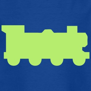Train Silhouette Shirts - Kids' T-Shirt