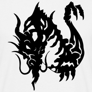 Japanese Dragon Art T-Shirts - Men's T-Shirt