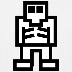Pixel Game Skeleton T-Shirts - Men's T-Shirt