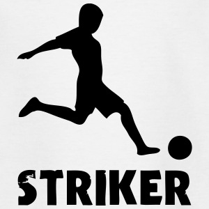 Soccer Player (Striker) Shirts - Kids' T-Shirt
