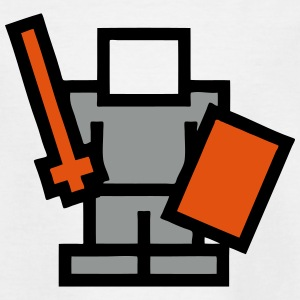 Pixel Game Warrior Shirts - Kids' T-Shirt