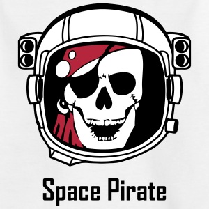 Space Pirate (Skull in Astronaut Helmet) Shirts - Teenage T-shirt