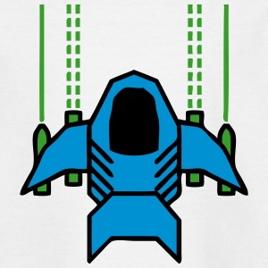 Retro Classic Spaceship Shirts - Kids' T-Shirt