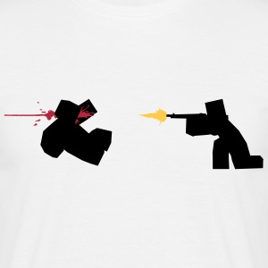 Unturned Zombie Shooting Game T-Shirts - Men's T-Shirt