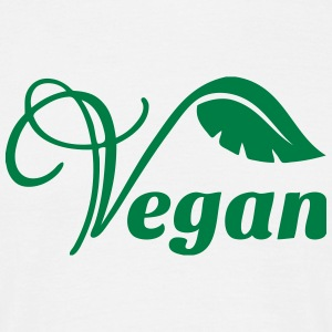 Vegan Logo T-Shirts - Men's T-Shirt