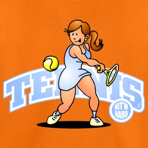 Tennis, Hit'm hard Tee shirts - T-shirt Premium Enfant