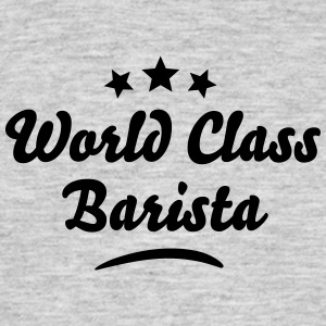 world class barista stars - Men's T-Shirt