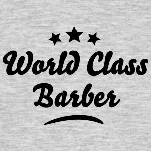 world class barber stars - Men's T-Shirt