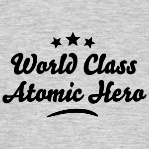 world class atomic hero stars - Men's T-Shirt