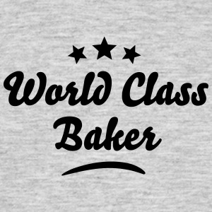 world class baker stars - Men's T-Shirt