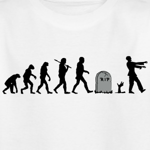 Undead Zombie Evolution Shirts - Kids' T-Shirt