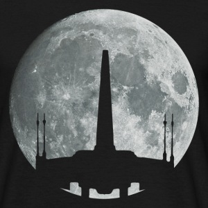 moon X-wing T-Shirts - Men's T-Shirt