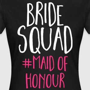 Bride Squad Maid Of Honour  T-shirts - T-shirt dam