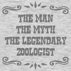 zoologist the man myth legendary legend - Men's T-Shirt