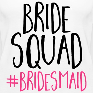 Bride Squad Bridesmaid  Tops - Women's Premium Tank Top