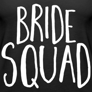 Bride Squad Hen Party  Topper - Premium singlet for kvinner