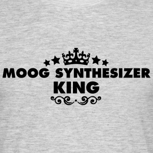 moog synthesizer king 2015 - Men's T-Shirt