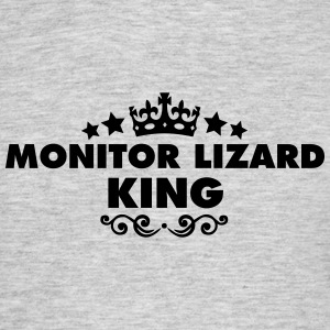 monitor lizard king 2015 - Men's T-Shirt