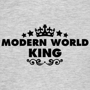 modern world king 2015 - Men's T-Shirt