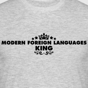 modern foreign languages king 2015 - Men's T-Shirt