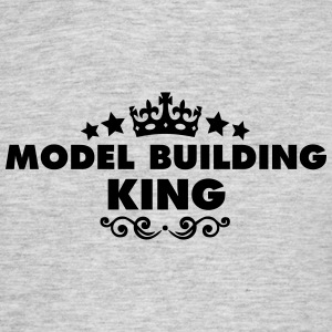 model building king 2015 - Men's T-Shirt