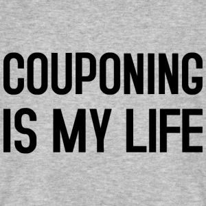 COUPONING IS MY LIFE T-Shirts - Männer Bio-T-Shirt