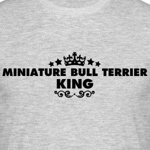 miniature bull terrier king 2015 - Men's T-Shirt