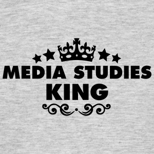 media studies king 2015 - Men's T-Shirt