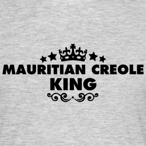mauritian creole king 2015 - Men's T-Shirt