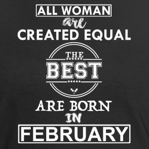 BEST ARE BORN IN FEBRUARY T-Shirts - Women's Ringer T-Shirt