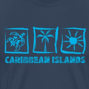 CARIBBEAN ISLANDS - T-shirt Premium Homme