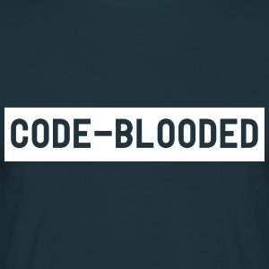 Code-Blooded T-Shirts - Men's T-Shirt