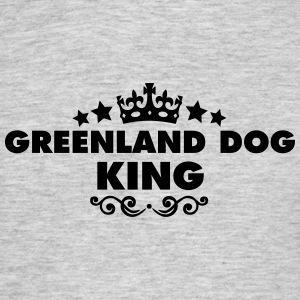 greenland dog king 2015 - Men's T-Shirt