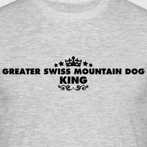 greater swiss mountain dog king 2015 - Men's T-Shirt