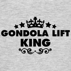 gondola lift king 2015 - Men's T-Shirt