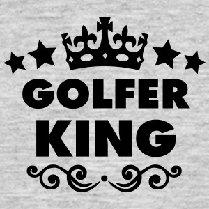 golfer king 2015 - Men's T-Shirt