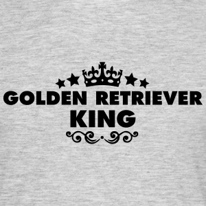 golden retriever king 2015 - Men's T-Shirt