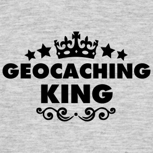 geocaching king 2015 - Men's T-Shirt