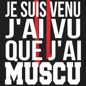 que j'ai muscu Sweat-shirts - Sweat-shirt baseball unisexe