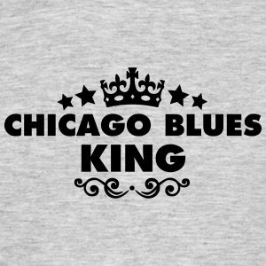 chicago blues king 2015 - Men's T-Shirt