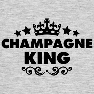 champagne king 2015 - Men's T-Shirt