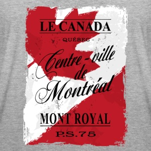 Canada - Montreal - Maple Leaf Logo T-Shirts - Frauen Oversize T-Shirt