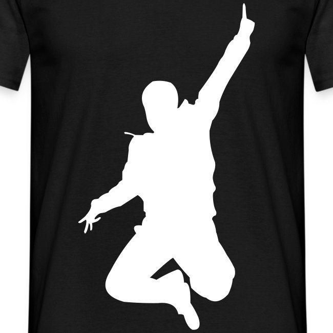 Jumping Man Front - Man T-Shirt