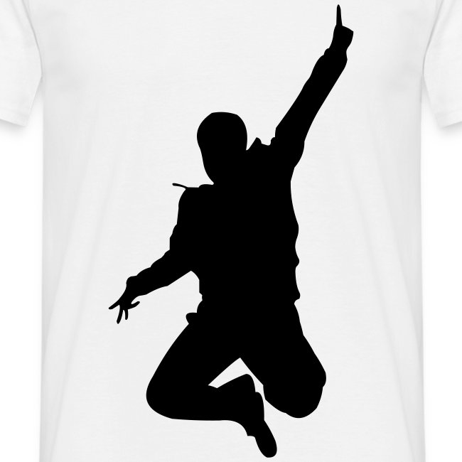 Jumping Man Front - Man T-Shirt