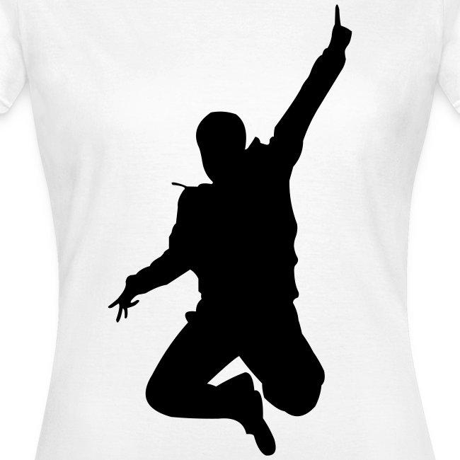 Jumping Man Front - Woman T-Shirt
