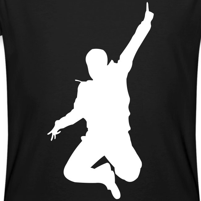 Jumping Man Front - Man Bio T-Shirt
