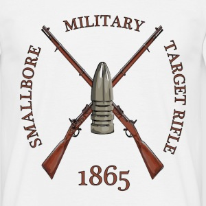 MILITARY TARGET RIFLE T-shirts - Herre-T-shirt