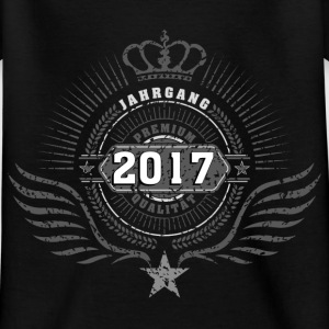 born_in_2017_crown03 T-Shirts - Kinder T-Shirt