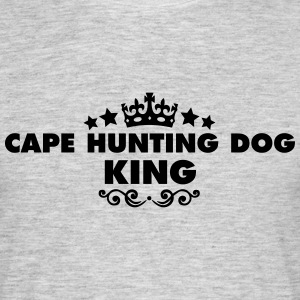 cape hunting dog king 2015 - Men's T-Shirt