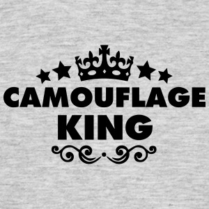 camouflage king 2015 - Men's T-Shirt